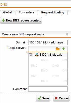 1.168.192.in-addr.arpa-interner-DNS-Server